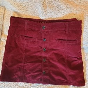 American Eagle Corduroy Skirt Size14